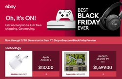 New deals drop every hour on Black Friday and Cyber Monday. Shoppers can score big on must-have items across electronics, fashion, toys, collectibles, home and sporting goods.