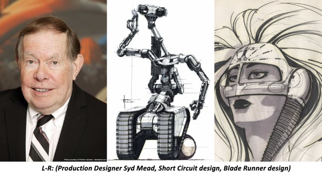 "Production Designer Syd Mead, known for his designs in ""Short Circuit"" and ""Blade Runner"" will be honored by the ADG on February 1,2020"