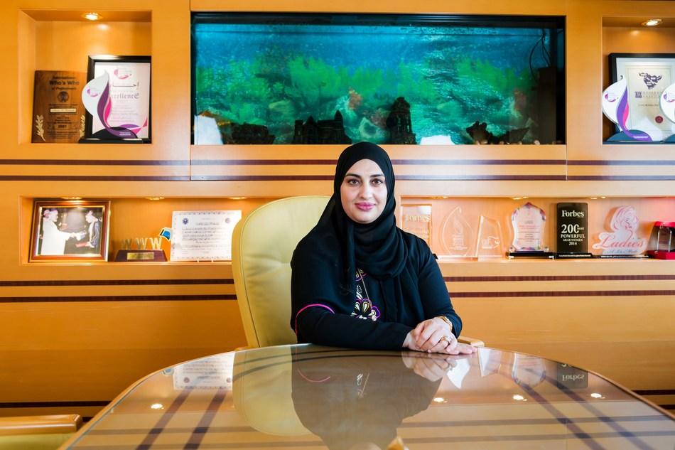 Mrs. Areej Mohsin Darwish, Chairperson of Mohsin Haider Darwish LLC (MHD)