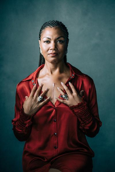 Opera star Measha Brueggergosman is new celebrity ambassador for Heart & Stroke's women's campaign. (CNW Group/Heart and Stroke Foundation)