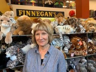 Karen Leppmann, owner of Finnegan's Toys & Gifts