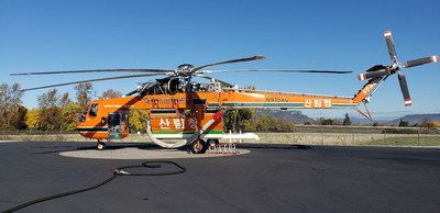 S-64 Air Crane® Helicopter Headed to South Korea