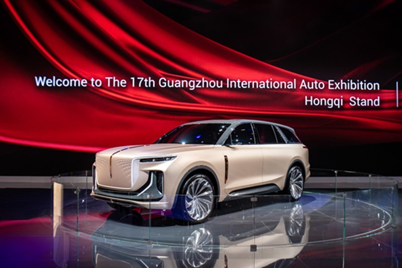 Hongqi E115 unveiled at the 17th Guangzhou International Automobile Exhibition