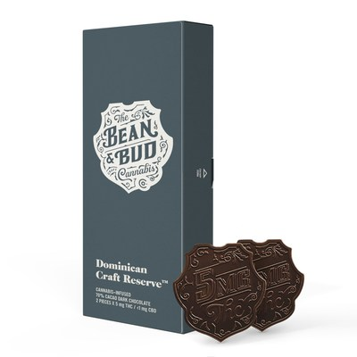 Bean & Bud Dominican Craft Reserve Chocolate (CNW Group/Canopy Growth Corporation)