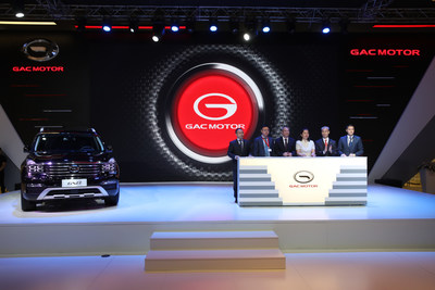 GAC MOTOR announced the official launch of GAC MOTOR RUS at the Moscow International Automobile Salon (MIAS) in August 2018