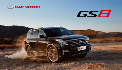 The GS8 luxury flagship 7-seat SUV will be GAC MOTOR's first model sold in Russia
