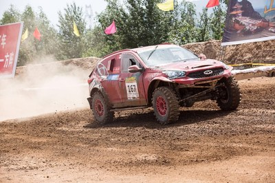 Chery Tiggo7 in Taklimakan Rally