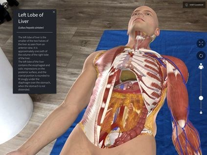 A 3D anatomy image from 3D4Medical's Complete Anatomy. Elsevier, part of RELX PLC, announced Wednesday morning that it had acquired 3D4Medical, a Dublin-based company.