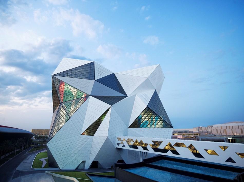CLYMB Abu Dhabi - Exterior