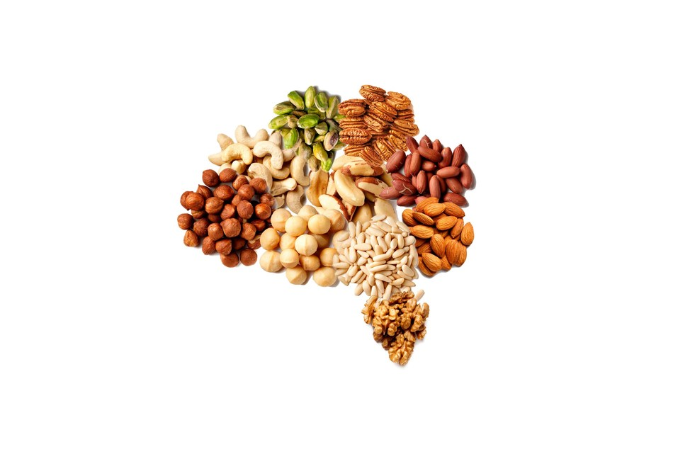 Nuts and brain health.