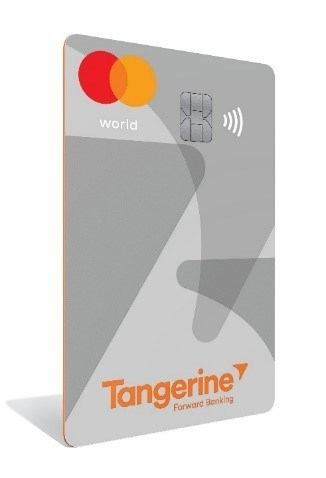 Tangerine Debuts New World Mastercard® with Coveted Perks (CNW Group/Tangerine)