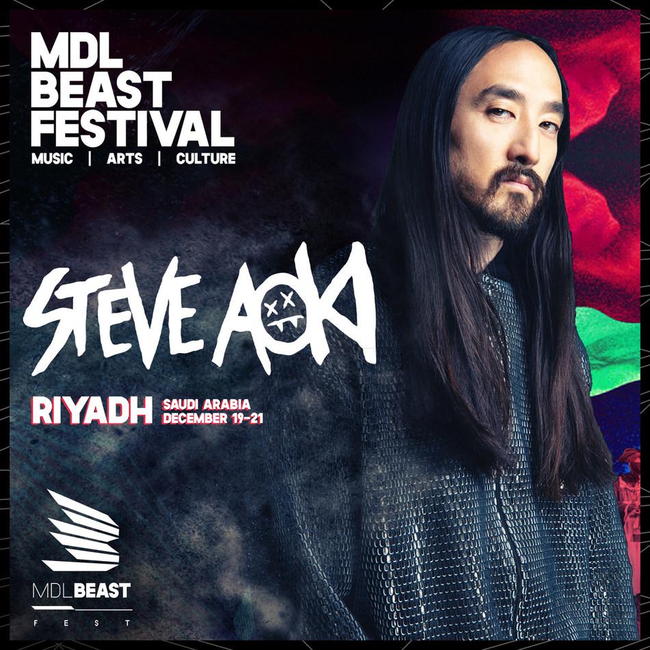 Steve Aoki MDL Beast