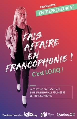 Les 60 entrepreneurs québécois âgés de 18 à 35 qui ont participé à la 3e Grande rencontre ont été soutenus dans le cadre de l'Initiative en Créativité entrepreneuriale jeunesse en Francophonie de LOJIQ/OFQJ. (Groupe CNW/Les Offices Jeunesse Internationaux du Québec)