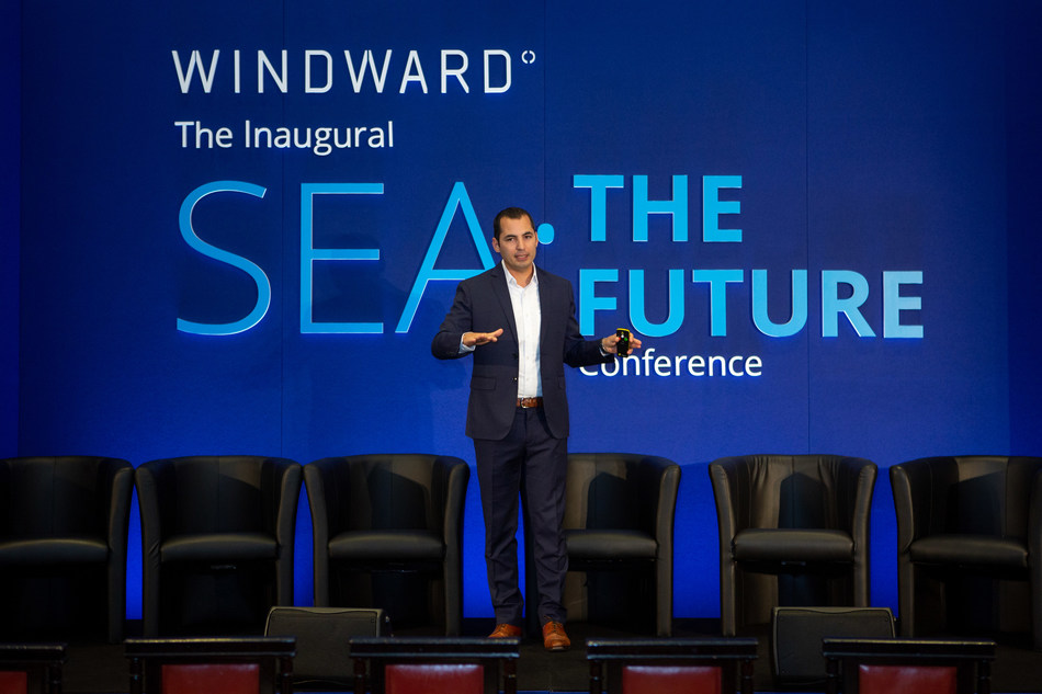 Windward CEO, Ami Daniel, delivers the opening keynote at this year's 'Sea: The Future' conference