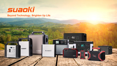 SUAOKI, a Brand of Portable and Safe Energy Storage Power Sources, Assisting People Affected by the Wildfires in California, USA