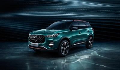 Debut del nuevo concepto de SUV de Chery, el Tiggo 7, en la 17a Exposición Internacional del Automóvil de Guangzhou. (PRNewsfoto/Xinhua Silk Road Information Se)