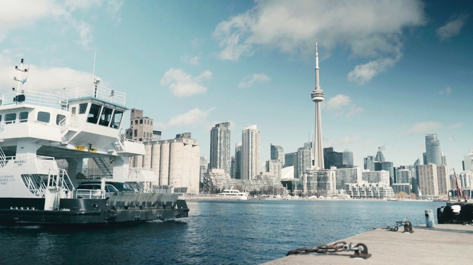 PortsToronto, owner and operator of Billy Bishop Toronto City Airport, announced that the airport's Marilyn Bell I ferry will be converted to electric-power, eliminating all related GHG emissions and significantly reducing noise impacts. (CNW Group/PortsToronto)