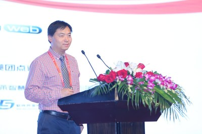 Dacheng Tao, General Chair of CIKM Conference, Internationally Renowned Scholar in AI and Information Science, Australian Eureka Prize Winner, AAAS and IEEE Fellows and Academician of Australian Academy of Sciences, Delivered a Speech