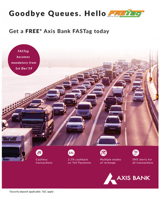 FASTag - Axis Bank