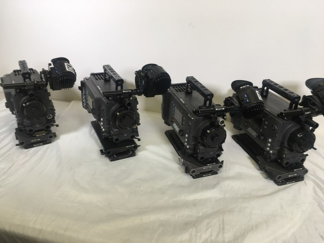 Arri Alexa camera head bodies are among the items available in Tiger's Dec. 10 auction of surplus A/V equipment from Keslow Camera and remaining gear from the Massachusetts location of recently-closed Eastern TV.