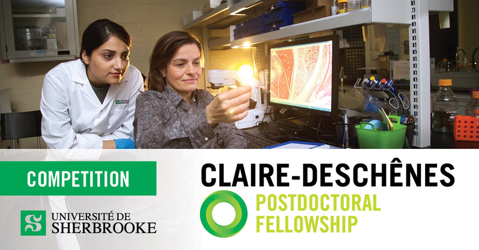 An innovative competition organized by the Faculty of Engineering at Université de Sherbrooke will allow eight female doctoral graduates in science and engineering to each win a postdoctoral fellowship with a guaranteed engineering professorship! (CNW Group/Université de Sherbrooke)