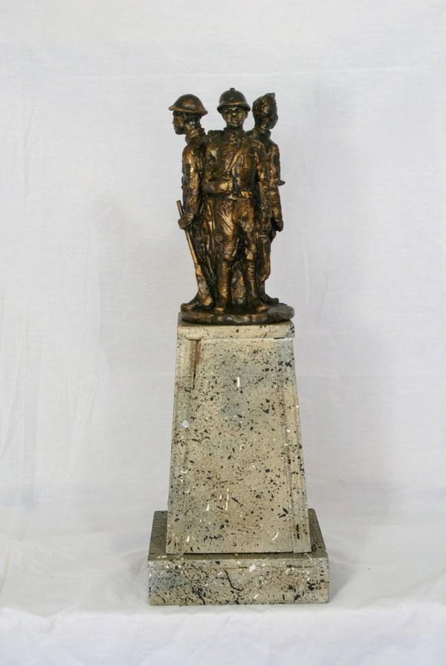 Model of the 371st Infantry Monument
