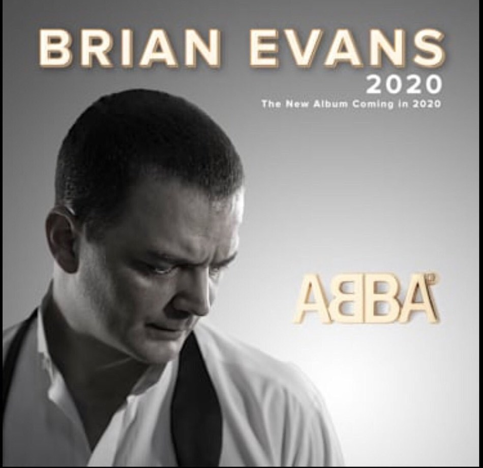 Brian Evans is currently developing his next album with multiple Grammy Award winner Narada Michael Walden, known for his producing of Whitney Houston, Stevie Wonder, and Aretha Franklin. The album will feature big band renditions of ABBA classics. (PRNewsfoto/Thematic Productions)