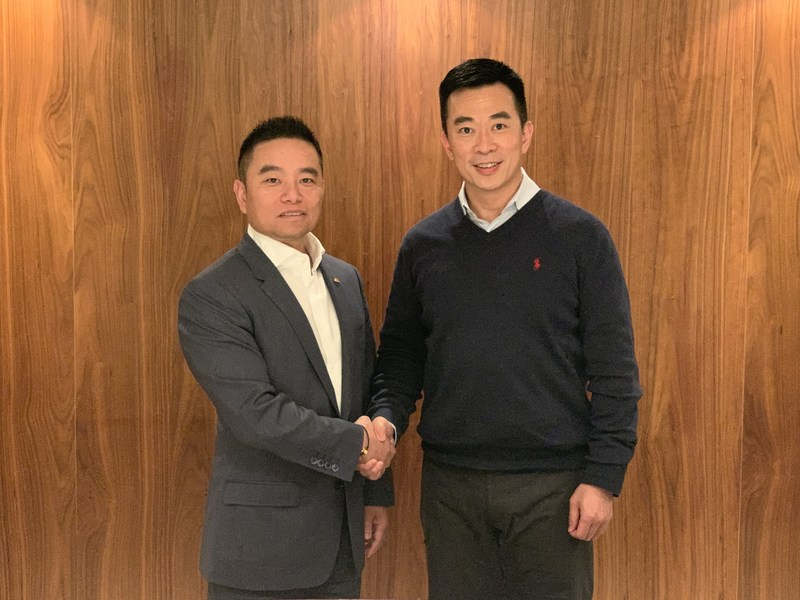 Bill Chen (left) and Paul Ng (right) (CNW Group/Hill & Knowlton Canada)