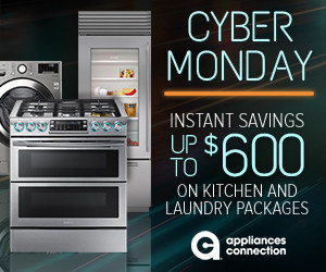 You Can Still Save Big During the Appliances Connection 2019 Cyber Monday Sale