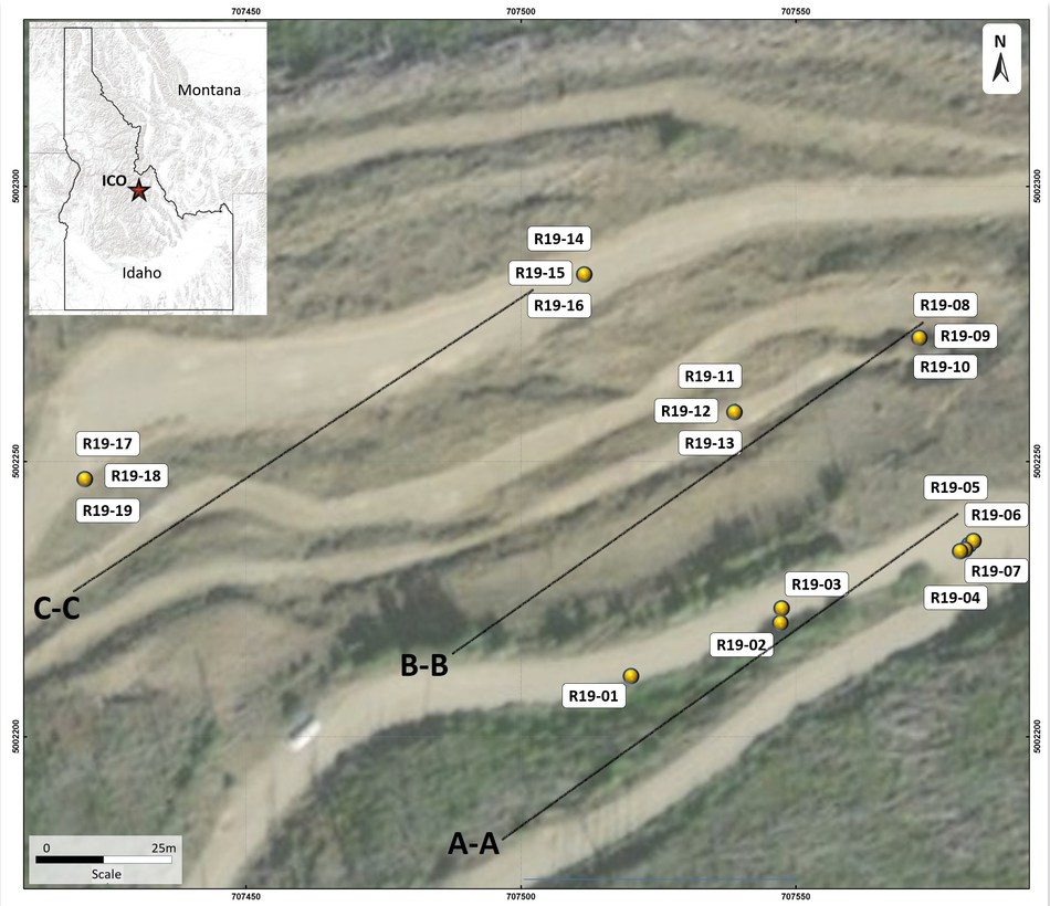 Figure 1: Plan of completed ICO 2019 Drilling (CNW Group/Jervois Mining Limited)