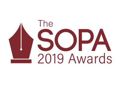 The SOPA 2019 Awards Logo