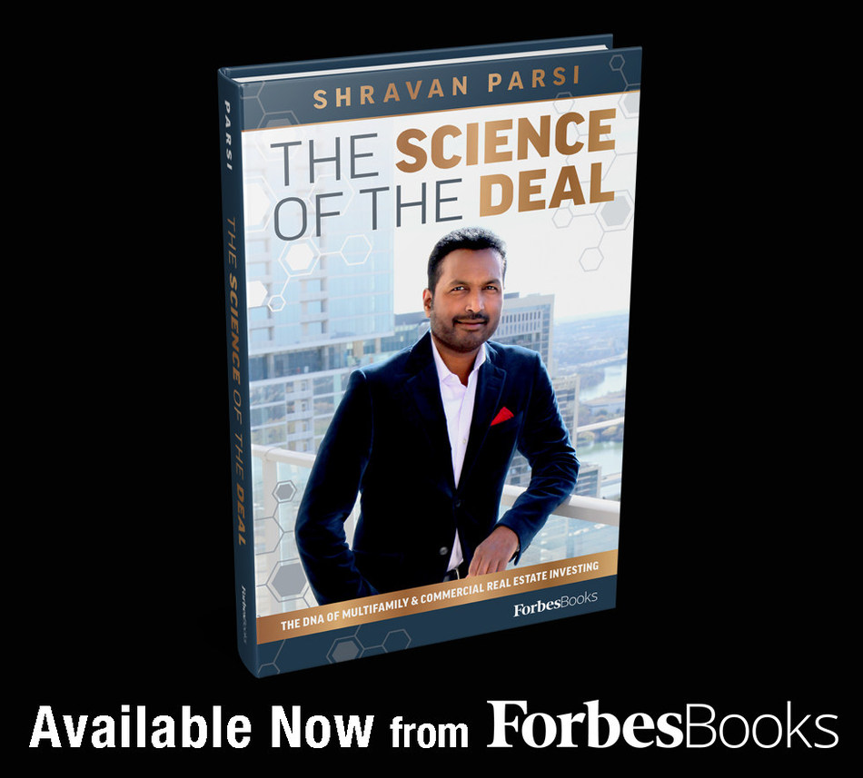 Shravan Parsi Releases The Science Of The Deal with ForbesBooks