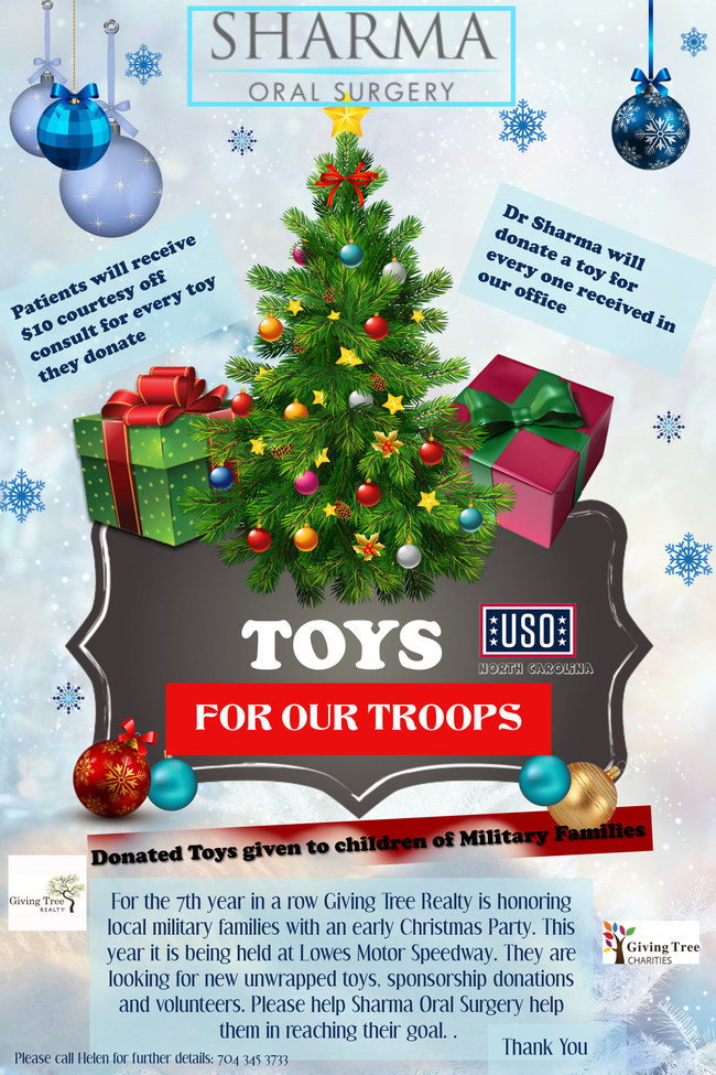 Donations will be matched toy for toy!