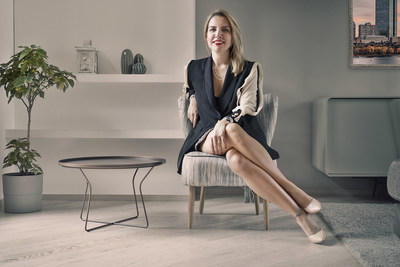 Francesca Stella founder of MoreWay brand (PRNewsfoto/MoreWay by Francesca Stella)