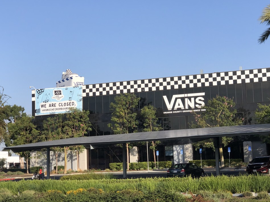 Vans HQ in Costa Mesa, California closed its doors in celebration of Checkerboard Day