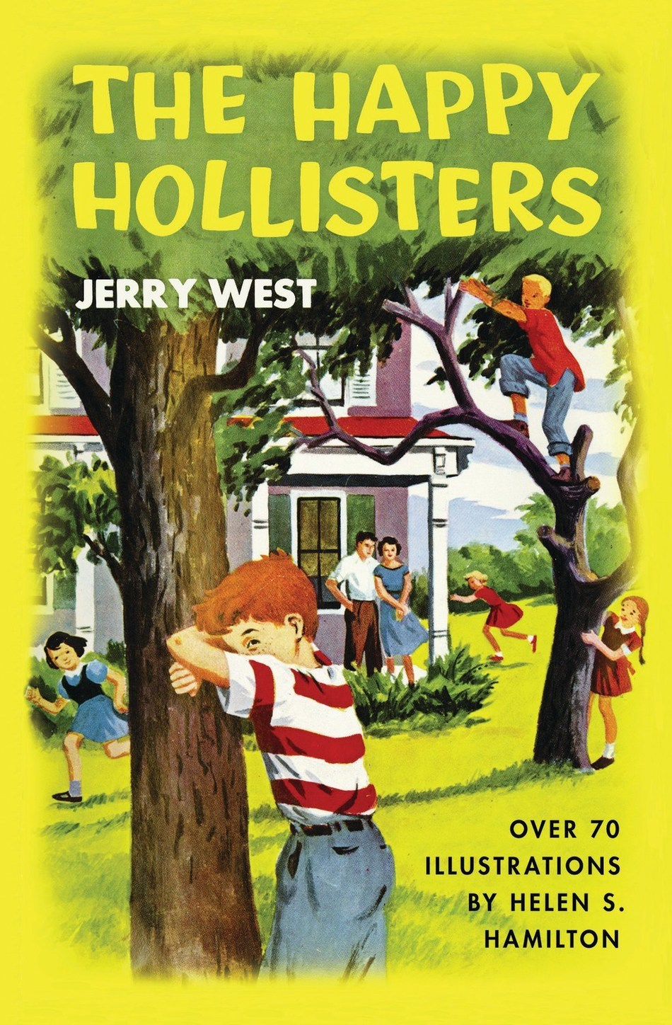 The Happy Hollisters Volume 1, Front Cover.