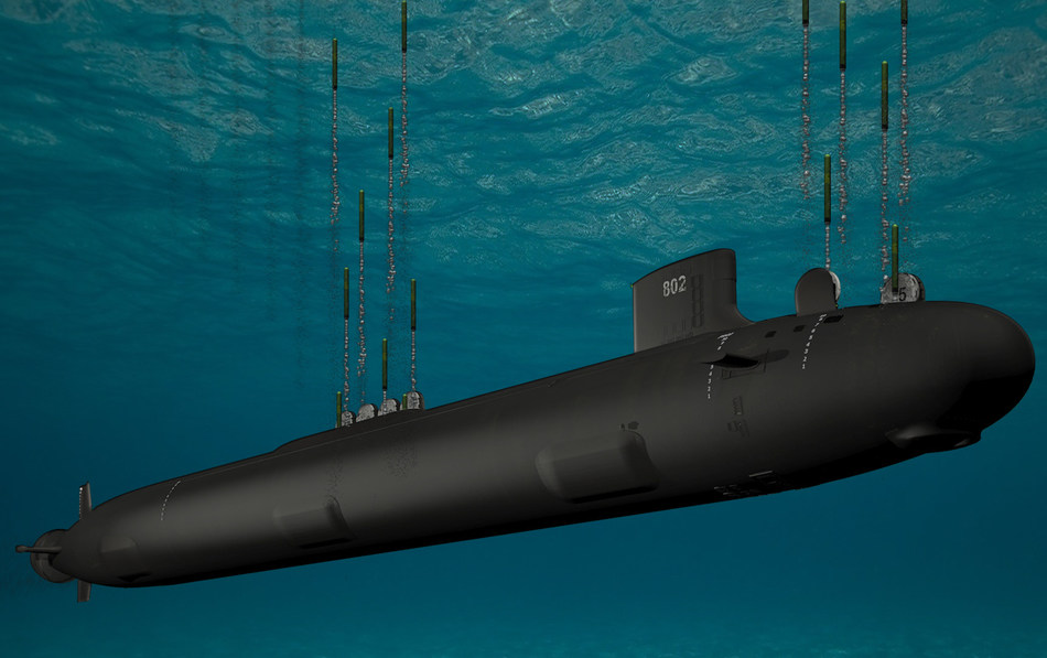 General Dynamics Electric Boat was awarded a contract by the U.S. Navy to build a new block of Virginia-class submarines with a special payload module that increases the strike capability of the ship. U.S. Navy photo illustration.