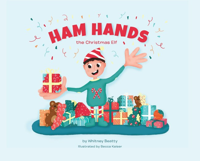 Ham Hands the Christmas Elf is a magical cover story for wrapping-impaired parents.