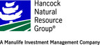 Hancock Natural Resource Group Successfully Completes Inaugural Sustainability Examination of Select Managed Agricultural Operations