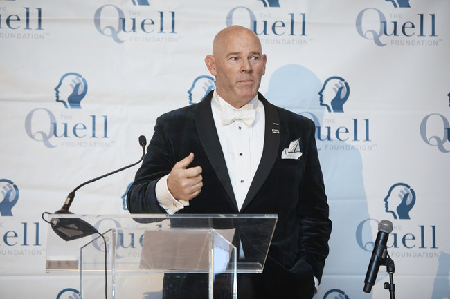 The Quell Foundation CEO Kevin Lynch