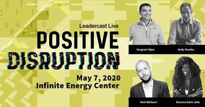 Positively disrupt the future with the powerful expert insights of Leadercast Live 2020 speakers. Attend live in Atlanta, GA or become a host site at live.leadercast.com.