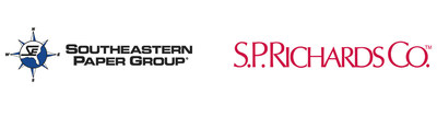 Southeastern Paper Group and S.P. Richards Logos