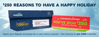 Valpak Ups Its Instant Win Checks to $250 for the Holidays!