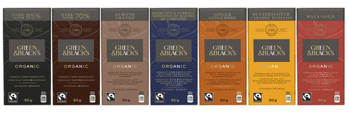 Green & Black's Unveils Sleek, New Packaging Design, Just in Time for The Holidays! (CNW Group/Green & Black's)