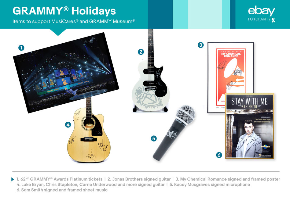 GRAMMY charities auction items