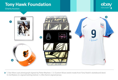 Tony Hawk Foundation charity items