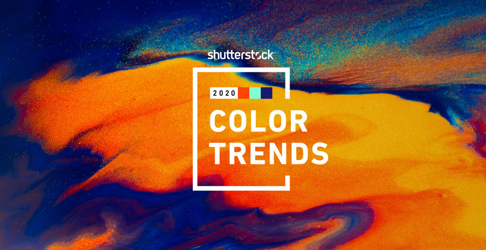 Color Trends For 2020.Shutterstock S 2020 Color Trends Report Predicts Colors On
