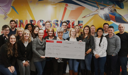 Gore Mutual Insurance Company is celebrating GivingTuesday by donating $50,000 to charities across Canada on December 3. (CNW Group/Gore Mutual Insurance Company)