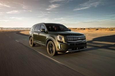 El Kia Telluride es nombrado finalista para el Premio al Vehículo Utilitario Norteamericano del Año de 2020 (PRNewsfoto/Kia Motors America)