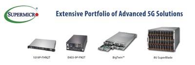 Supermicroがオープン5G無線アクセスネットワーク(RAN)向けのサーバークラスエッジシステムを発売
